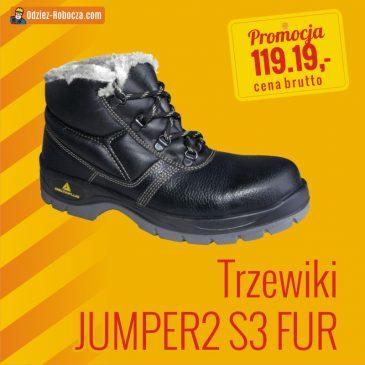 Jesienne promocje 2019 – trzewiki JUMPER2 S3 FUR