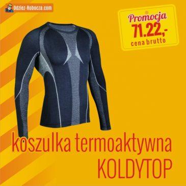 Jesienne promocje 2019 – koszulka termoaktywna KOLDYTOP