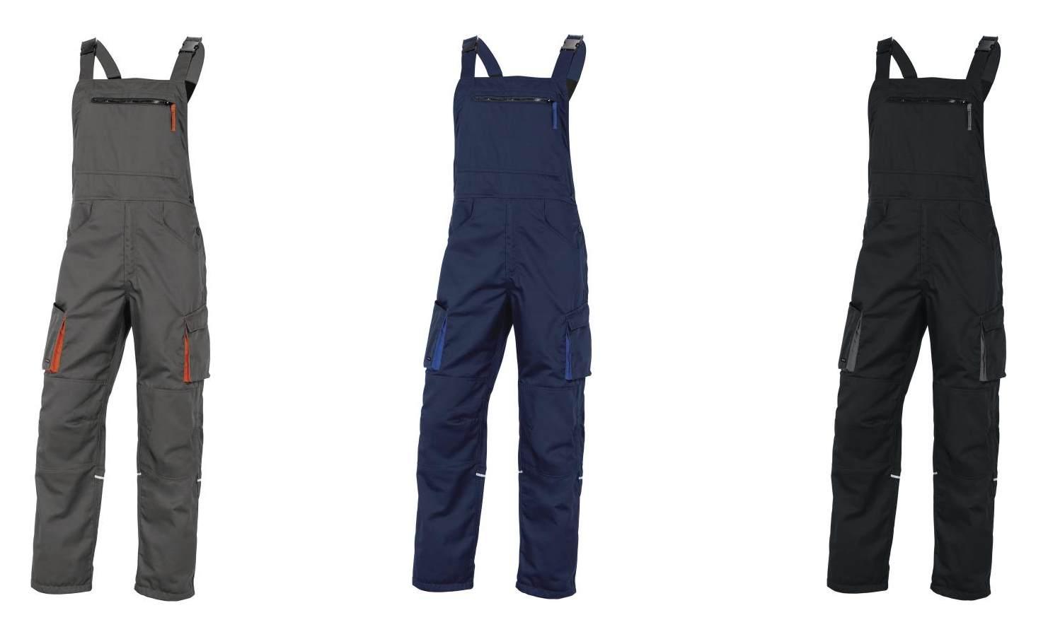 14dcc6c7c15bc9 Spodnie robocze ogrodniczki MACH2, M2SA2, DELTA PLUS - Ubrania ...